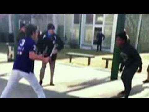 Cop shoots student brandishing knife at school