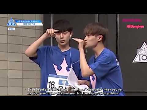 ENG PRODUCE 101 Season 2 Ep.10 Debut Evaluation 'Super Hot' Cut 프로듀스101 시즌2 10회 Super Hot조 컷