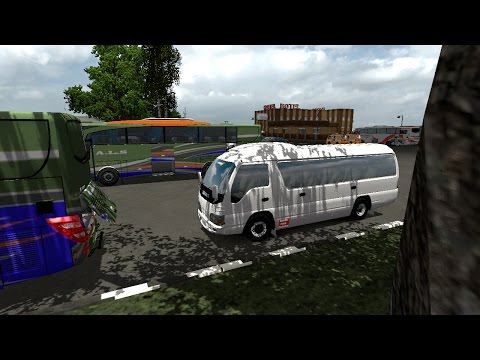 ETS2 : Review Elf + Test Drive ke Danau Toba l Map Sumatra SI