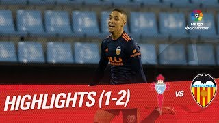 Highlights RC Celta vs Valencia CF (1-2)