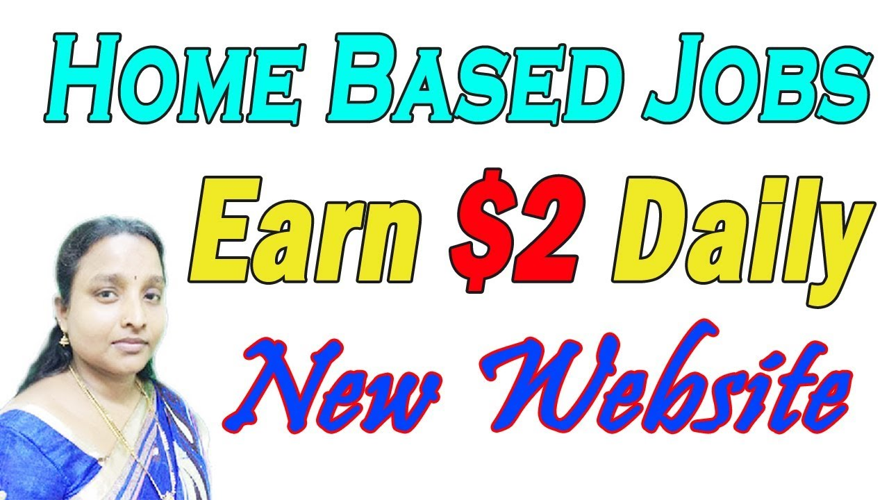 Home Based Jobs Earn Daily $2 New Website in Tamil - YouTube