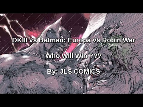 Comic Books Saturday Edition: DKIII vs Robin War vs Batman Europa