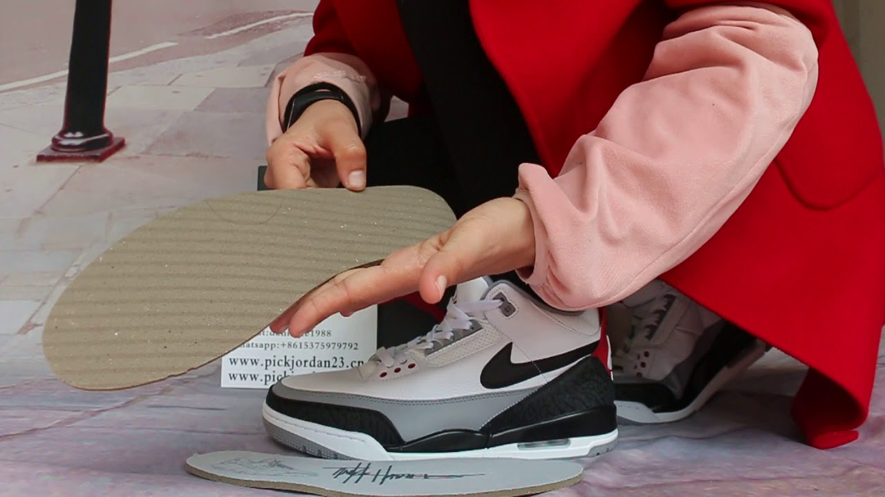 1ed6136302ca Air Jordan 3 NRG Tinker On Feet HD Review - YouTube
