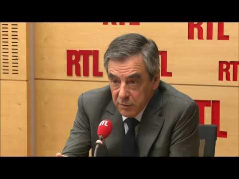 François Fillon invité de la matinale de RTL