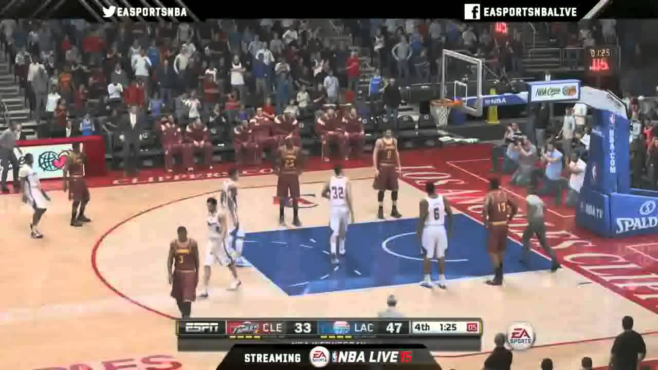 nba live 15 live stream gameplay from ea sports youtube