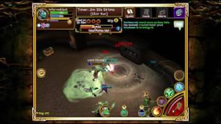 Arcane Legends Gameplay Part 3 Dragon Hunter Staff PC Gameplay