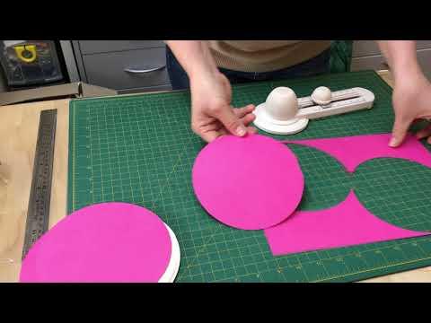 How to cut perfect circles with Martha Stewart circle cutter