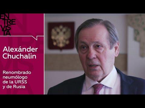 Alexánder Chuchalin, neumólogo: 'El coronavirus puede provocar un brusco colapso inmunológico'