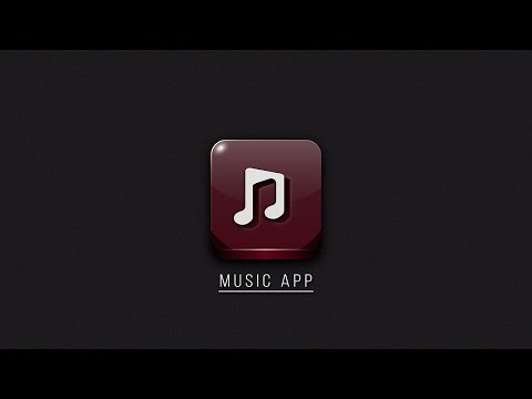 Illustrator Tutorial Music App Logo Design