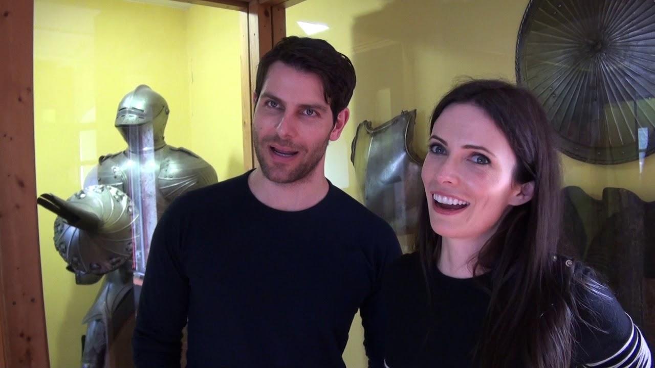 Bitsie tulloch and david dating