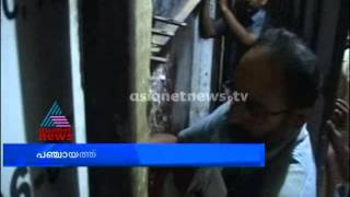 Panchayat closed  Bevco outlet in Chalakudy