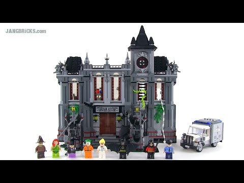Lego Batman Arkham Asylum Breakout Review Set 10937 Youtube