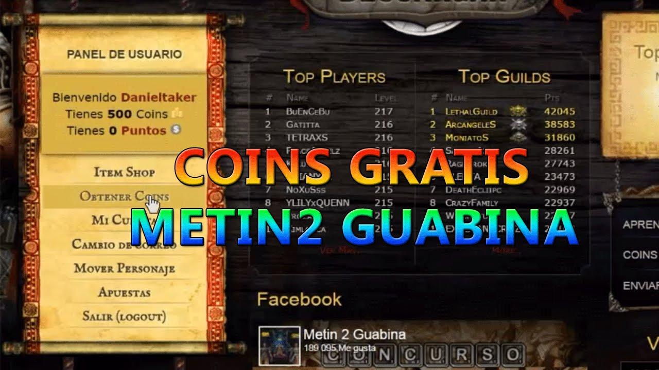 metin2 guabina gratis en espaol
