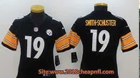 dfad2584f Featured Pittsburgh Steelers 19 Smith Schuster Cheap NFL Jerseys From China  - Duration  76 seconds.
