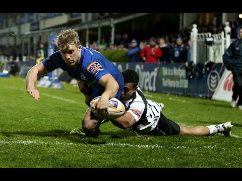 Luke Fitzgerald scores again with super Try - Leinster v Zebre 21st March 2014