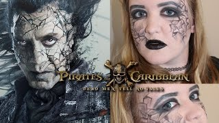 Pirates of the Caribbean: Dead Men Tell No Tales // Captain Salazar Inspired Makeup