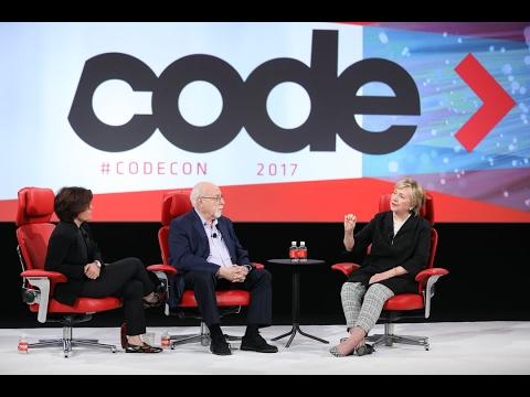 Hillary Clinton and Kara Swisher on media bias  | Code 2017