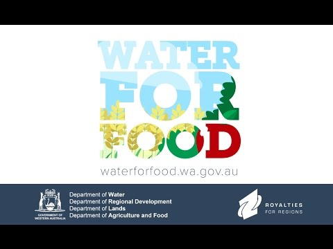 Water For Food - Department of Water
