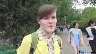 Киевляне смеются над возможным  референдумом  в ДНР