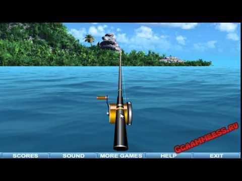 Игры для мальчиков Рыбалка на Море