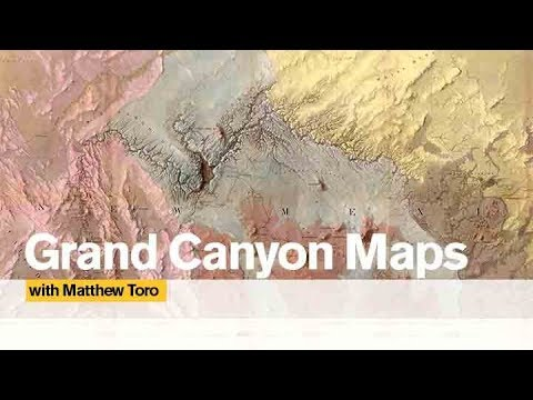 Map Of Arizona State University.Matthew Toro And His Magnificent Grand Canyon Map Collection