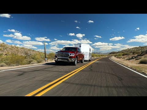 2019 Ram 1500 Towing Footage