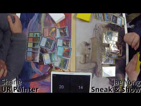 Legacy K MTG - UR Painter vs Sneak & Show 1.29.2018