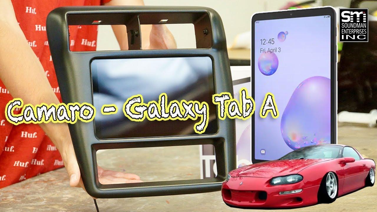 Camaro Samsung DASH MOD!
