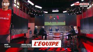Olivier Létang réagit à l?inversion des rencontres Rennes-Arsenal - Foot - C3 - Rennes