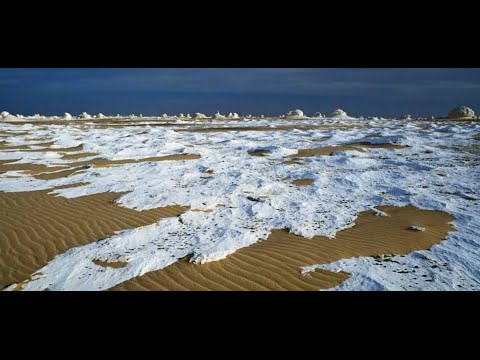 اغرب واجمل صحراء في العالم لن تصدقها White Desert marvel of nature in Egypt
