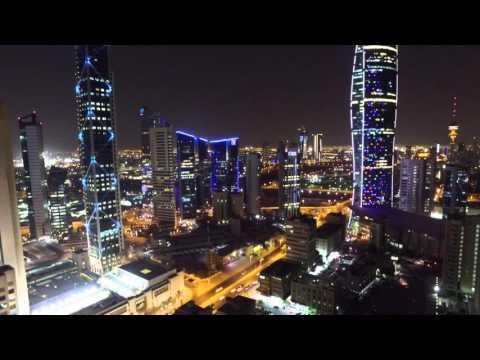 Kuwait City from the Sky - DJI Inspire 1
