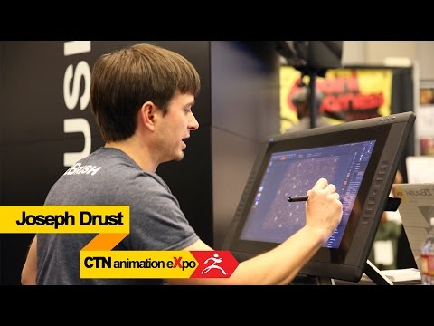 CTN animation eXpo 2014: Joseph Drust ZBrush 4R7 Demo