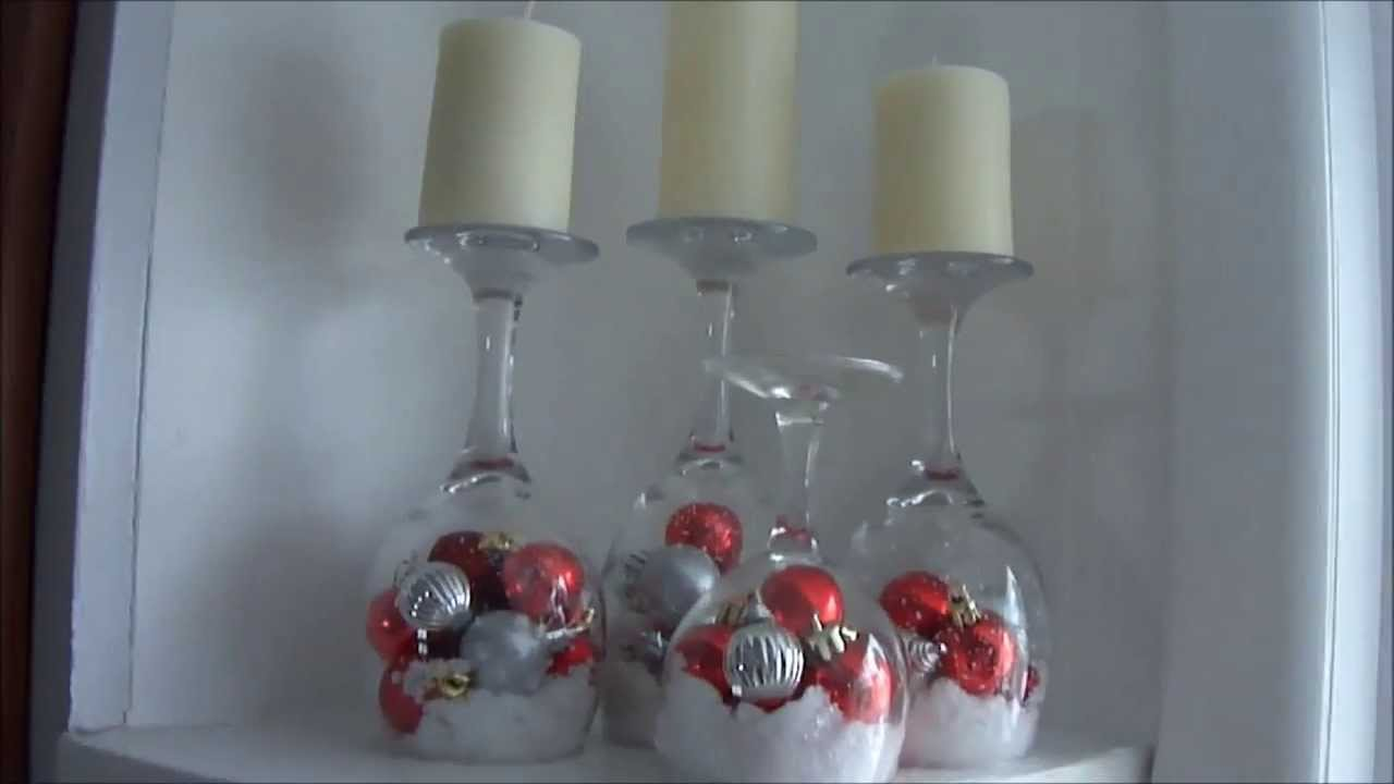 DIY: Wine Glass Candles - YouTube
