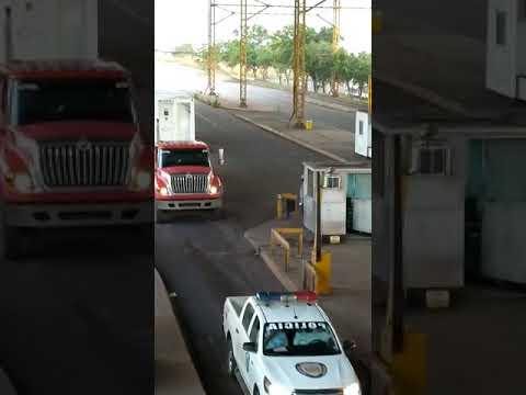 Caminhões da Venezuela chegam  com oxigênio de oxigênio para o Amazonas