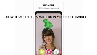 How to Easily Add 3D Animation Characters in Videos with android phone in Tamil | தமிழ்
