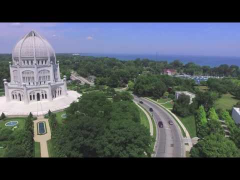 Evanston Drone Shots