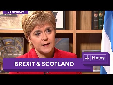 Nicola Sturgeon extended interview: Brexit and the future for Scotland