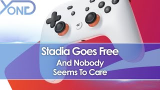 Stadia Goes Free And Nobody Seems To Care