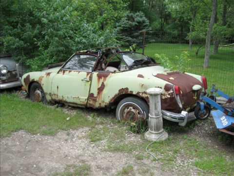 Cars Rotting Away At My Grandparants Youtube