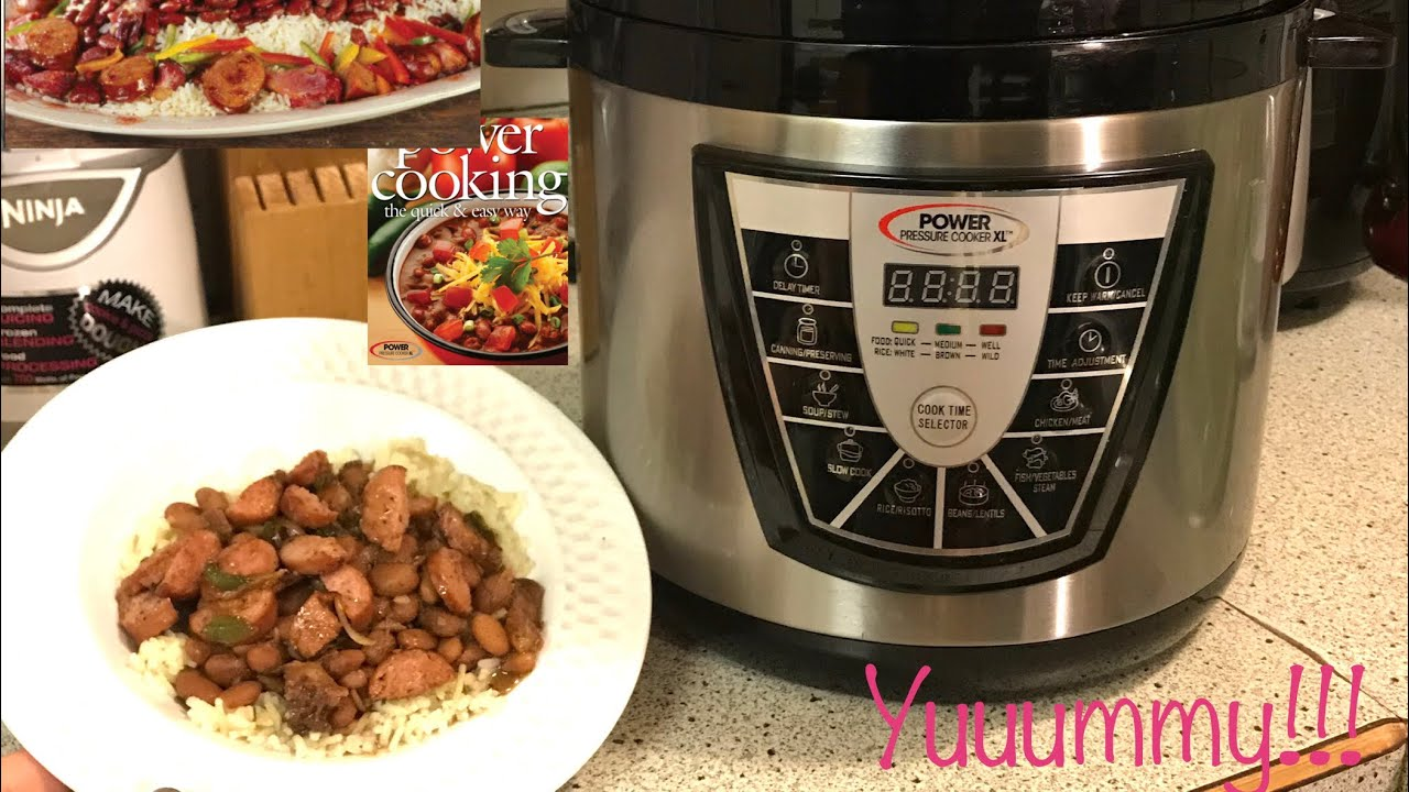 no soak, from dry pinto beans ~ power pressure cooker xl