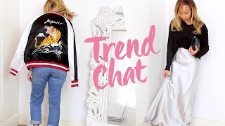 THE TREND CHAT | SS16