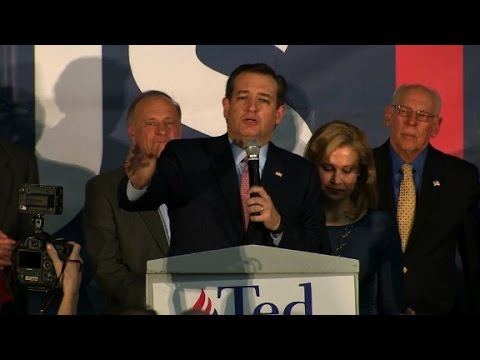Ted Cruz Iowa caucus speech (Entire speech)