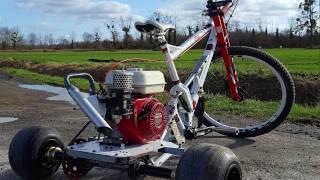 Vélo à moteur - Trike - Fait maison