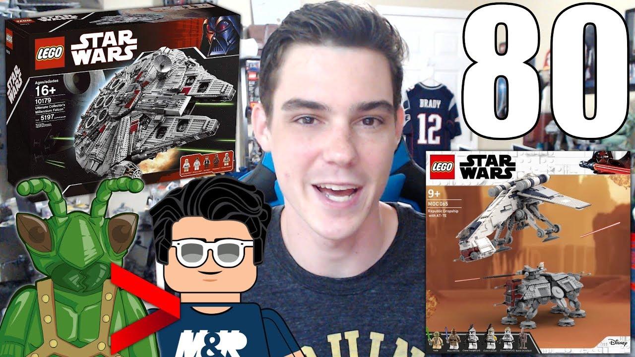Trading LEGO Sets? My Favorite LEGO MARVEL Set? UCS Millennium Falcons... | ASK MandRproductions 80