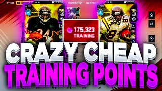 CRAZY CHEAP TRAINING METHODS!! | CHEAPEST TRAINING ALL YEAR TAKE ADVANTAGE NOW MADDEN 20!!