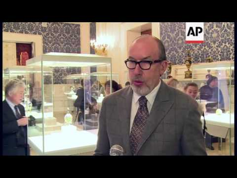 Billionaire's collection of priceless Faberge eggs