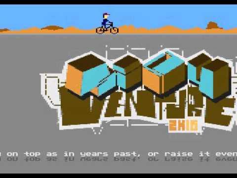 Silly Venture 2k16 - Atari 8-bit invitro #1