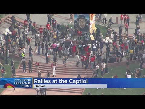 Different Rallies & Protests Organized In Denver On Saturday