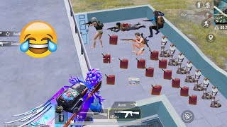 Trolling Teammates 🤣😂 | PUBG MOBILE FUNNY MOMENTS
