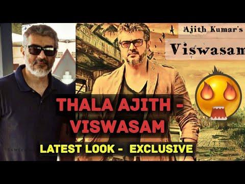 Thala Ajith - VISWASAM -  Latest Look - Exclusive stills 🔥 | Looking FIT &  ENERGETIC